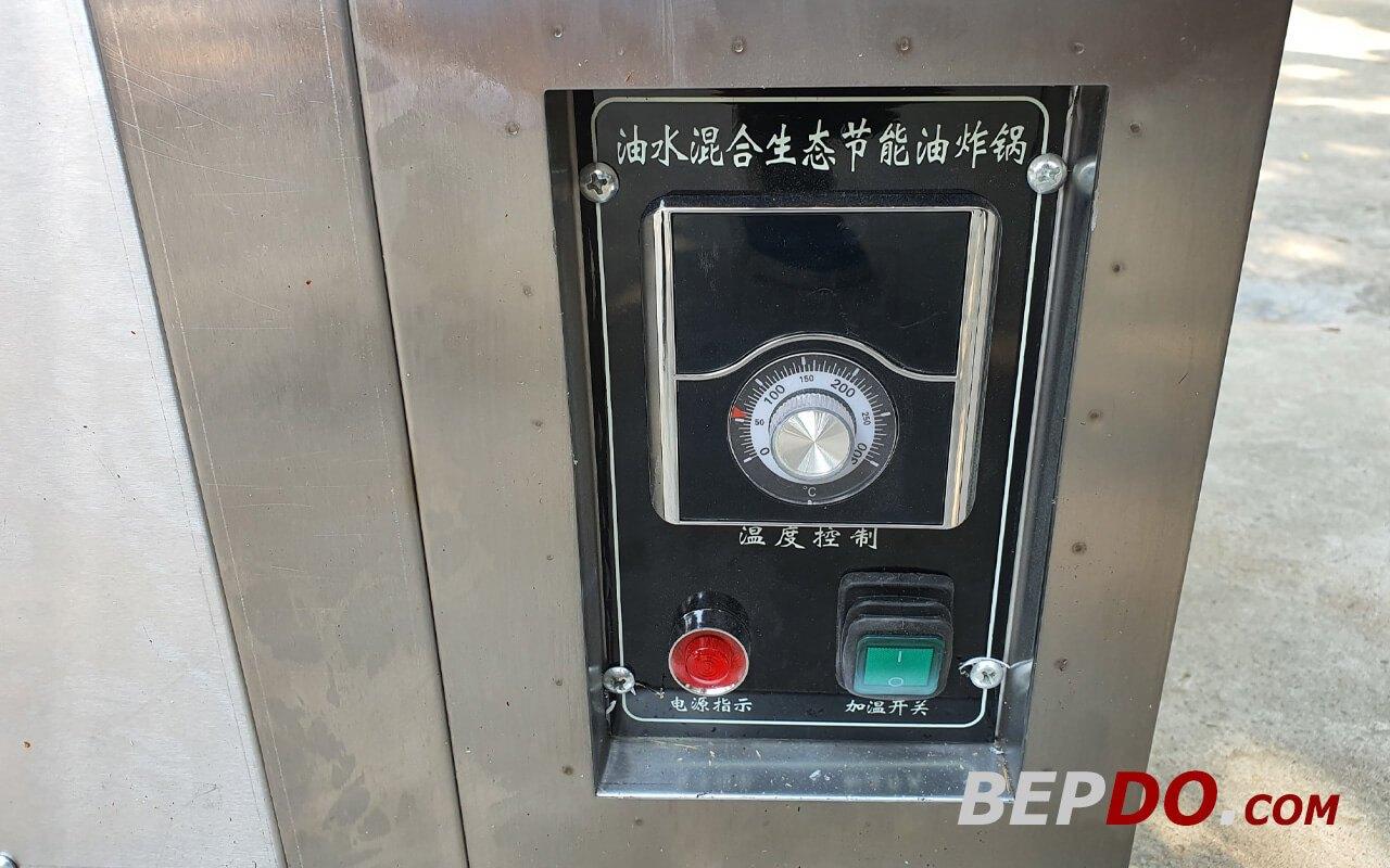 hệ thống điều khiển bếp chiên tách dầu 20L trực quan dễ sử dụng