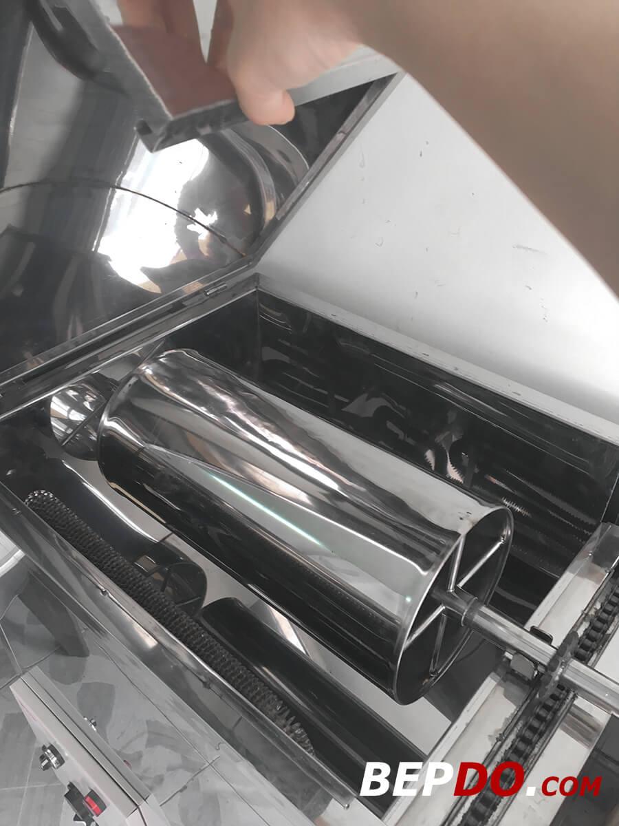 máy nướng chả quế 2 khuôn chất lượng cao