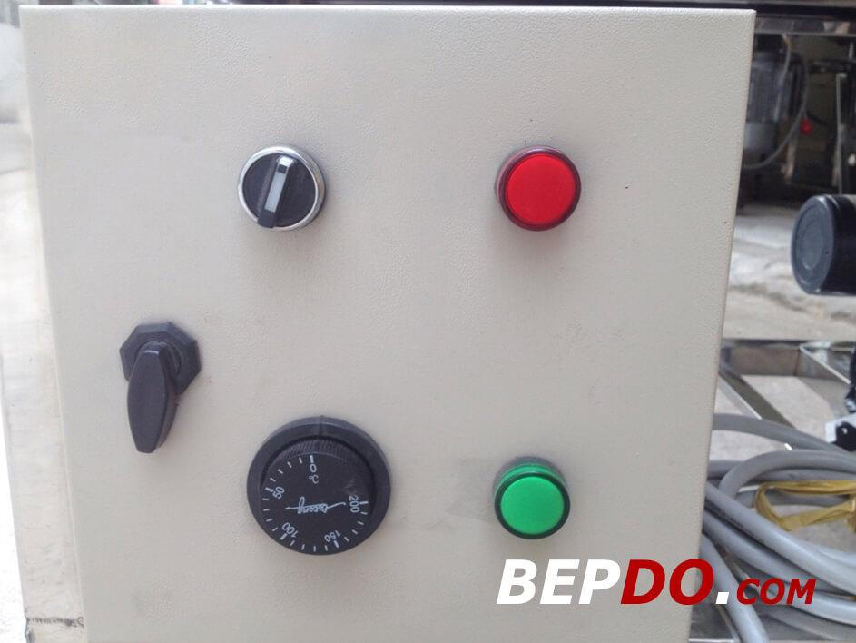 tủ điện điều khiển máy nướng chả quế 2 khuôn