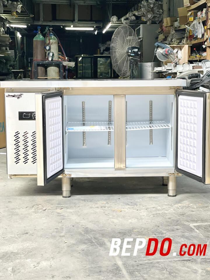 2 chế độ đông mát giúp tủ lạnh 1,2m dễ bảo quản các loại thực phẩm khác nhau