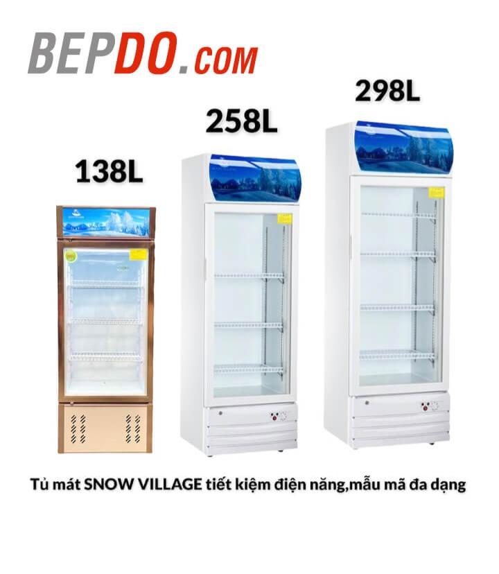 các mẫu tủ mát làm lạnh trực tiếp