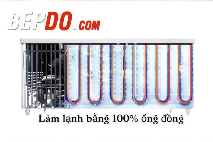 dàn lạnh 100% ống đồng